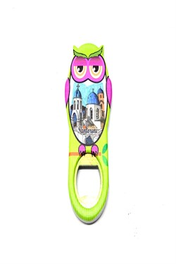 Owl Figured Opener Magnet