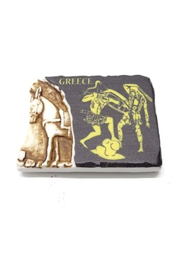 Greece Themed Horse Figured Magnet