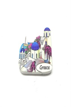Greece Themed Magnet